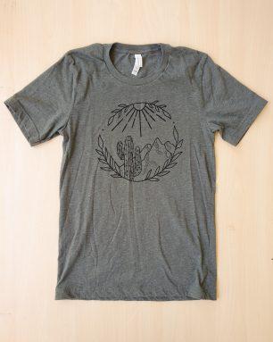 cactus mountain shirt