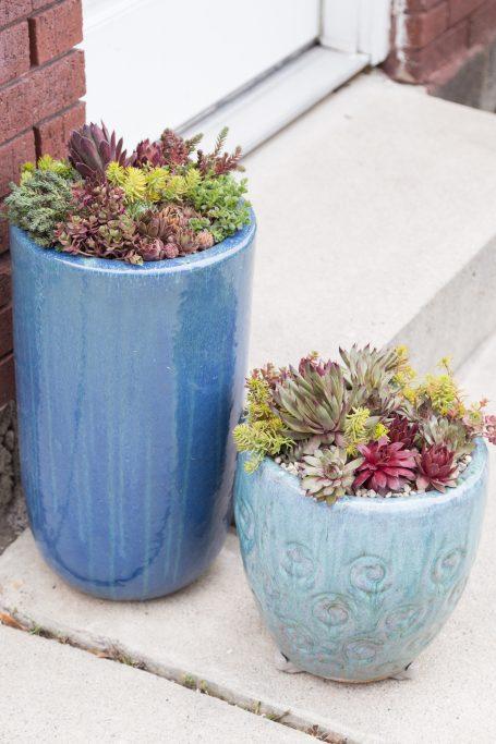 large planters pot feet