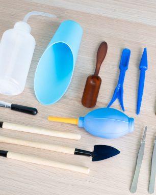mini succulent garden tool kit