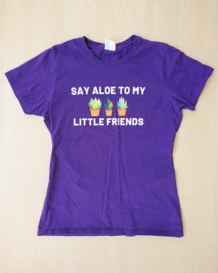 say aloe shirt