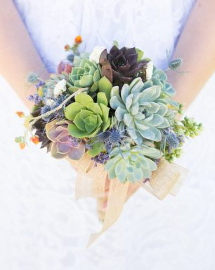 succulently urban bouquet