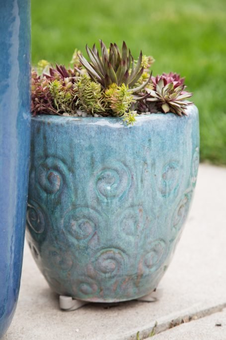 use pot feet for succulents summer
